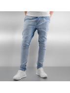 2Y Jeans Straight Fit Seam bleu