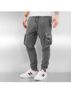 2Y Joggingbyxor Cargo grå