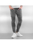 2Y Pantalone ginnico Zip grigio