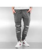 2Y Pantalone ginnico Lincoln grigio