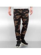 2Y Pantalone ginnico Oldbury marrone