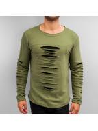 2Y Pitkähihaiset paidat Blesy khakiruskea