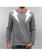 2Y Pullover Lightning grau