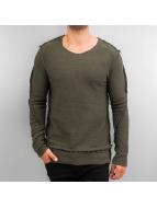 2Y Pullover Gilge khaki