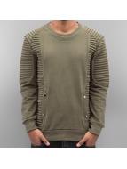 2Y Pullover Samuel khaki