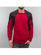 2Y Pullover Hérault rouge
