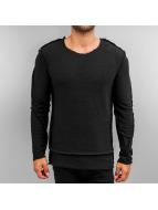 2Y Pullover Gilge schwarz