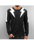 2Y Pullover Lightning schwarz
