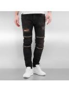 2Y Skinny Jeans Braga II čern