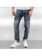 2Y Skinny Jeans Aesir blau