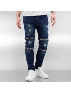 2Y Skinny Jeans Leyton blau