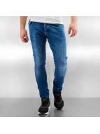 2Y Skinny jeans Kamal blauw