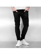 2Y Skinny Jeans Hafall czarny