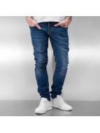 2Y Skinny Jeans Kubbur modrý