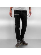 2Y Skinny Jeans Yuma schwarz