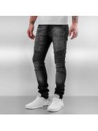 2Y Skinny Jeans Danyo schwarz