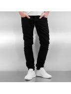 2Y Skinny Jeans Renz schwarz