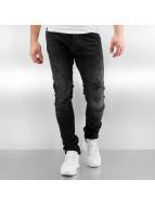 2Y Skinny Jeans Used schwarz