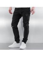 2Y Skinny Jeans Bilbao schwarz