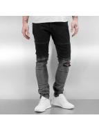 2Y Skinny Jeans Rakni schwarz