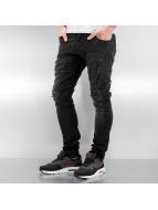2Y Skinny Jeans Norwich schwarz