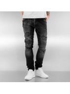 2Y Skinny Jeans Naresh schwarz