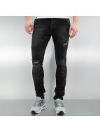 2Y Skinny Jeans Sintra schwarz