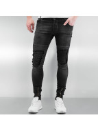 2Y Skinny Jeans Chester schwarz