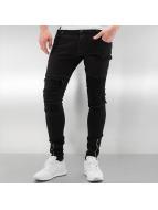 2Y Skinny Jeans Cannock schwarz