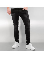 2Y Skinny Jeans Carlisle schwarz