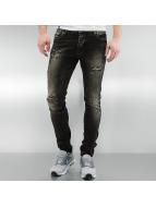2Y Skinny Jeans Cascais schwarz