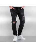 2Y Skinny Jeans Brunszwik sort