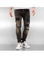 2Y Norwich Skinny Jeans Black