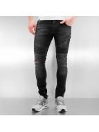 2Y Skinny Jeans Lagos sort