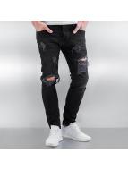 2Y Skinny jeans Brunszwik zwart