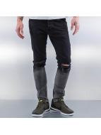 2Y Skinny jeans Two Tone zwart
