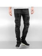 2Y Skinny jeans Viljami zwart