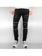 2Y Skinny jeans Braga zwart