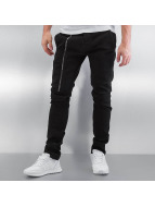 2Y Slim Fit Jeans Zip èierna
