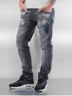 2Y Slim Fit Jeans Zadar šedá