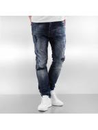 2Y Slim Fit Jeans Mason blå