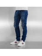 2Y Slim Fit Jeans Algimantas blauw