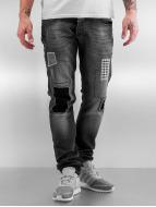2Y Slim Fit Jeans Latan grå