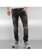 2Y Slim Fit Jeans Crawley grijs