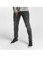 2Y Slim Fit Jeans William grijs