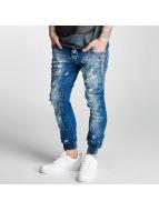 2Y Slim Fit Jeans Lean modrá
