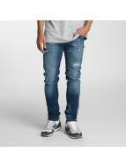 2Y Slim Fit Jeans Moll modrá