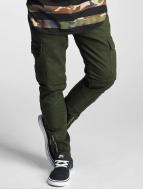2Y Slim Fit Jeans Adres oliv