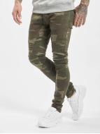 2Y Slim Fit Kot Pakka camouflage