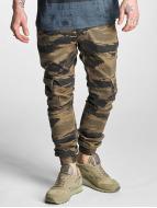 2Y Spodnie Chino/Cargo Denim moro